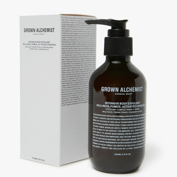 Grown Alchemist Other - Intensive Body Exfoliant - Inca Pumice, Charcoal